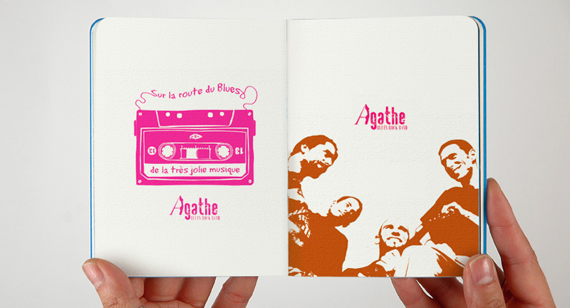 Agathe Blues Band - graphisme et illustrations