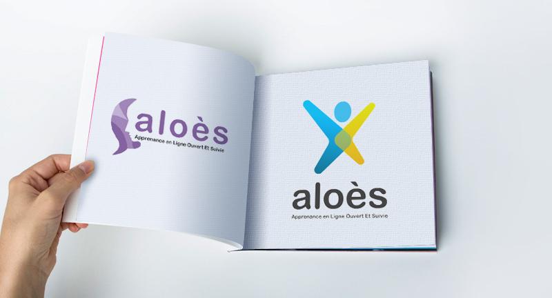 Aloès – Groupe la Poste, Logotype