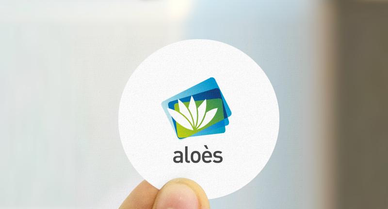 Aloès - Groupe la Poste, Logotype