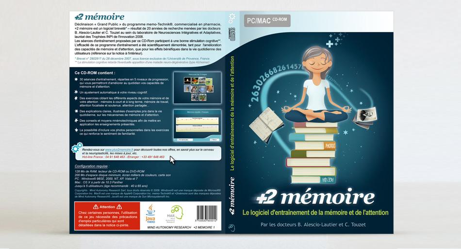 Mind Autonomy Research Charte graphique et design site internet